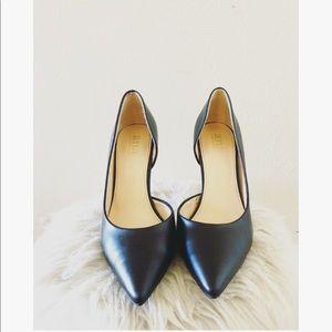 A.N.A.   Black Clair High Heels Pumps